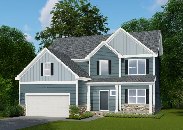 Single Family for Sale at The Oaks At Ironwood - Sage 3841 Ironwood Dr. Franklinton, North Carolina 27525 United States