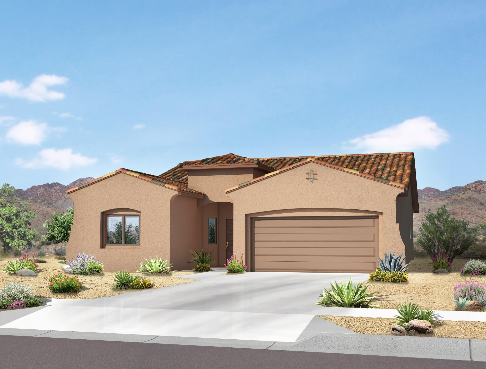 Single Family for Sale at Rancho Valencia - The Selena 1620 Camino Canyon Sw Los Lunas, New Mexico 87031 United States