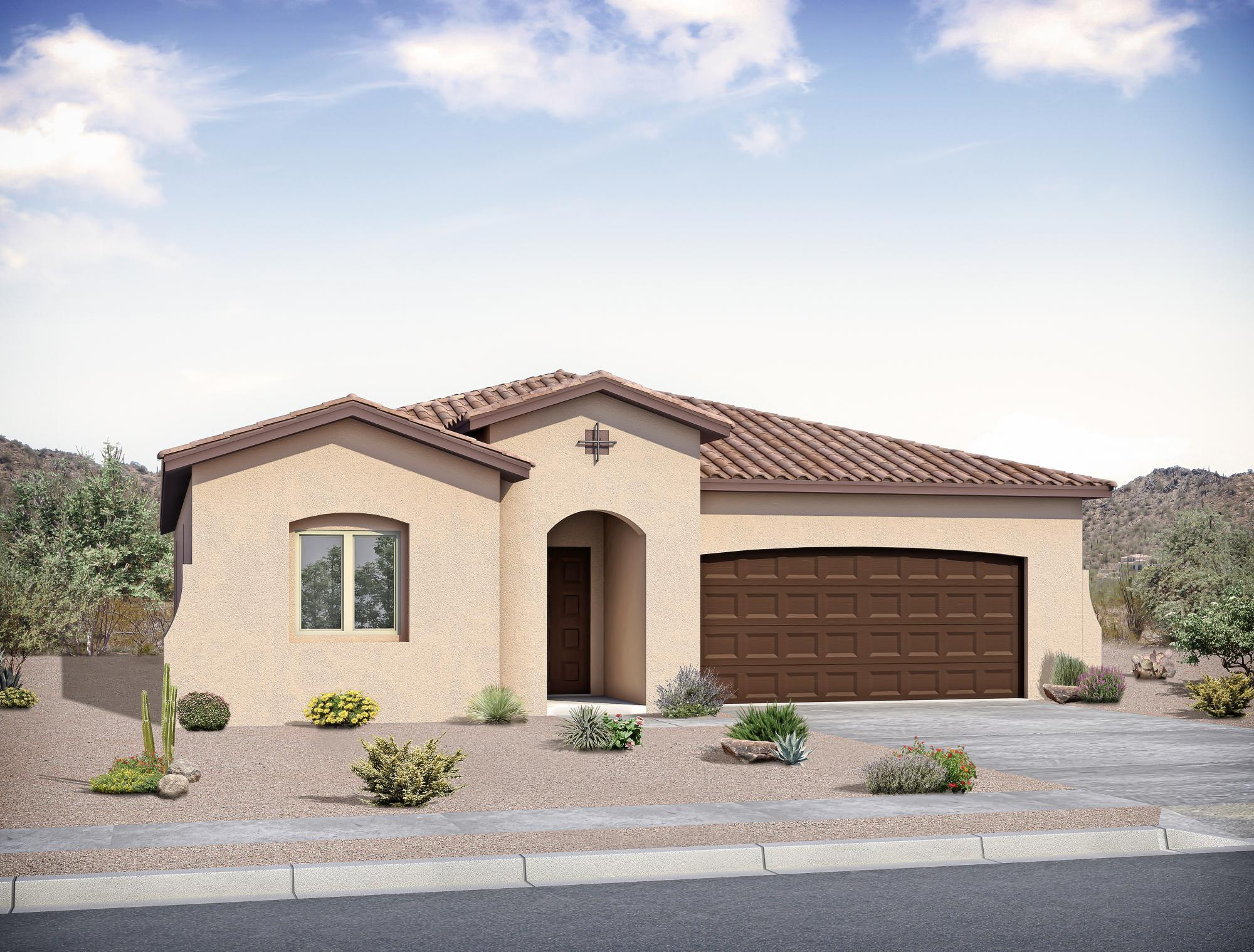 Single Family for Sale at Rancho Valencia - The Carrie 1620 Camino Canyon Sw Los Lunas, New Mexico 87031 United States