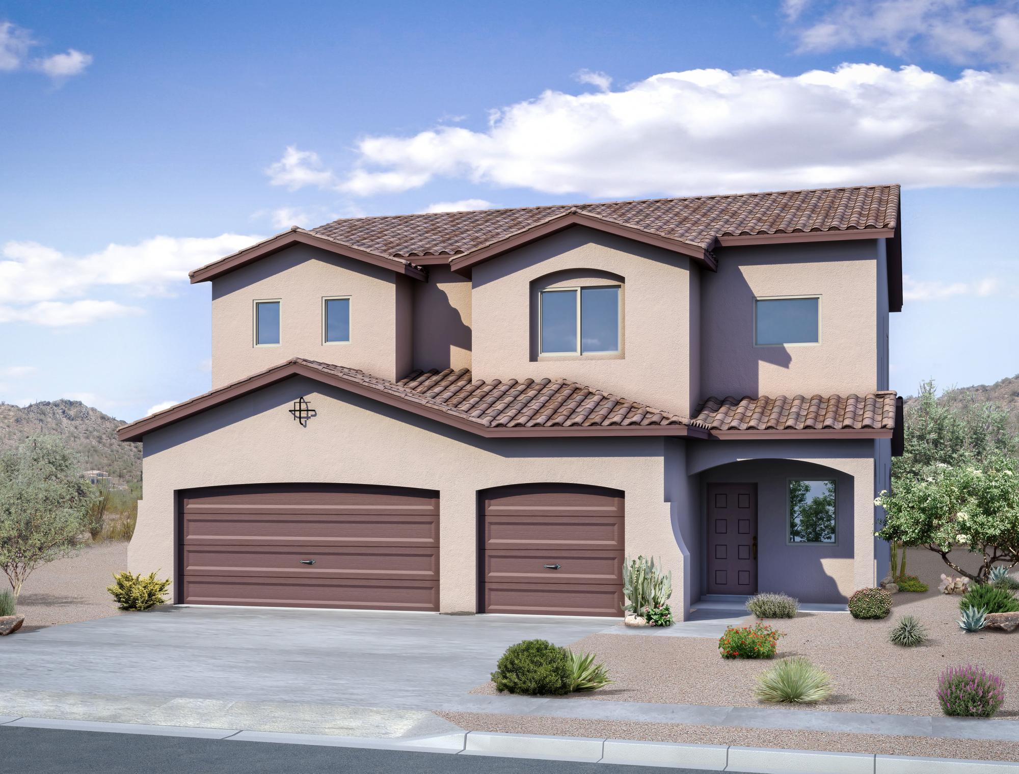Single Family for Sale at Estates At Santa Monica - The Rosa Ii Sm 7309 Brentwood Boulevard Ne Albuquerque, New Mexico 87109 United States