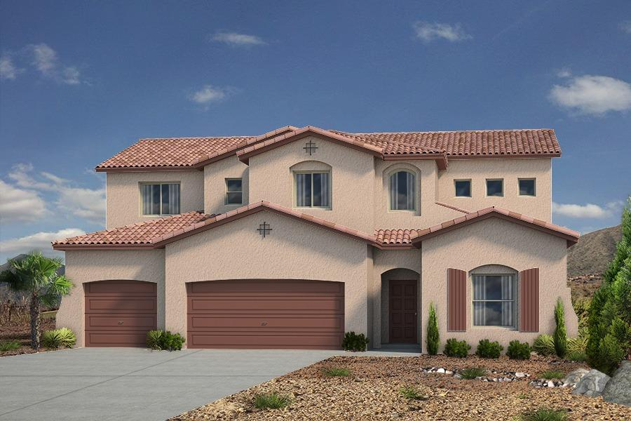 Single Family for Sale at Holly Estates - The Thatcher 8100 Ronan Court Ne Albuquerque, New Mexico 87122 United States