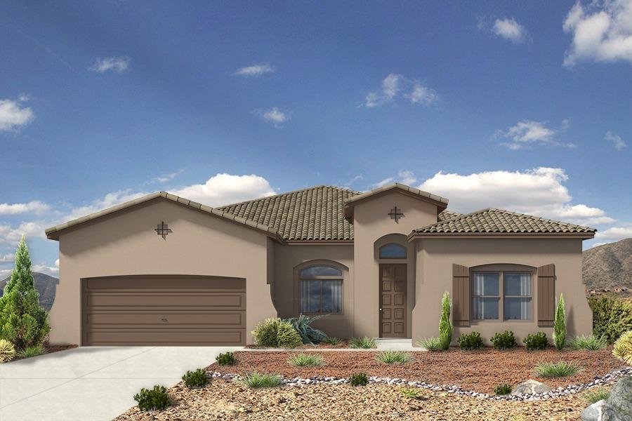 Single Family for Sale at Holly Estates - The Victoria 8100 Ronan Court Ne Albuquerque, New Mexico 87122 United States