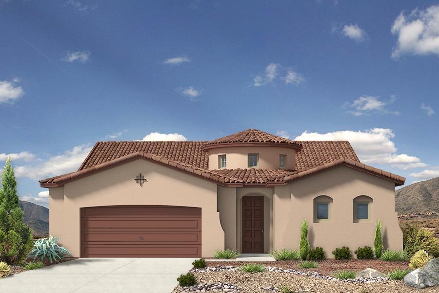 Single Family for Sale at Holly Estates - The Ella 8100 Ronan Court Ne Albuquerque, New Mexico 87122 United States