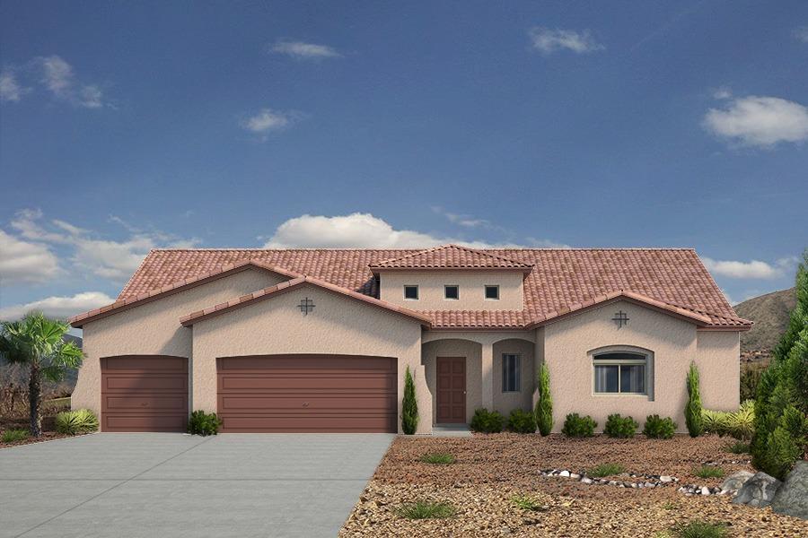 Single Family for Sale at Mariposa - The Tiffany 2604 La Luz Circle Rio Rancho, New Mexico 87144 United States