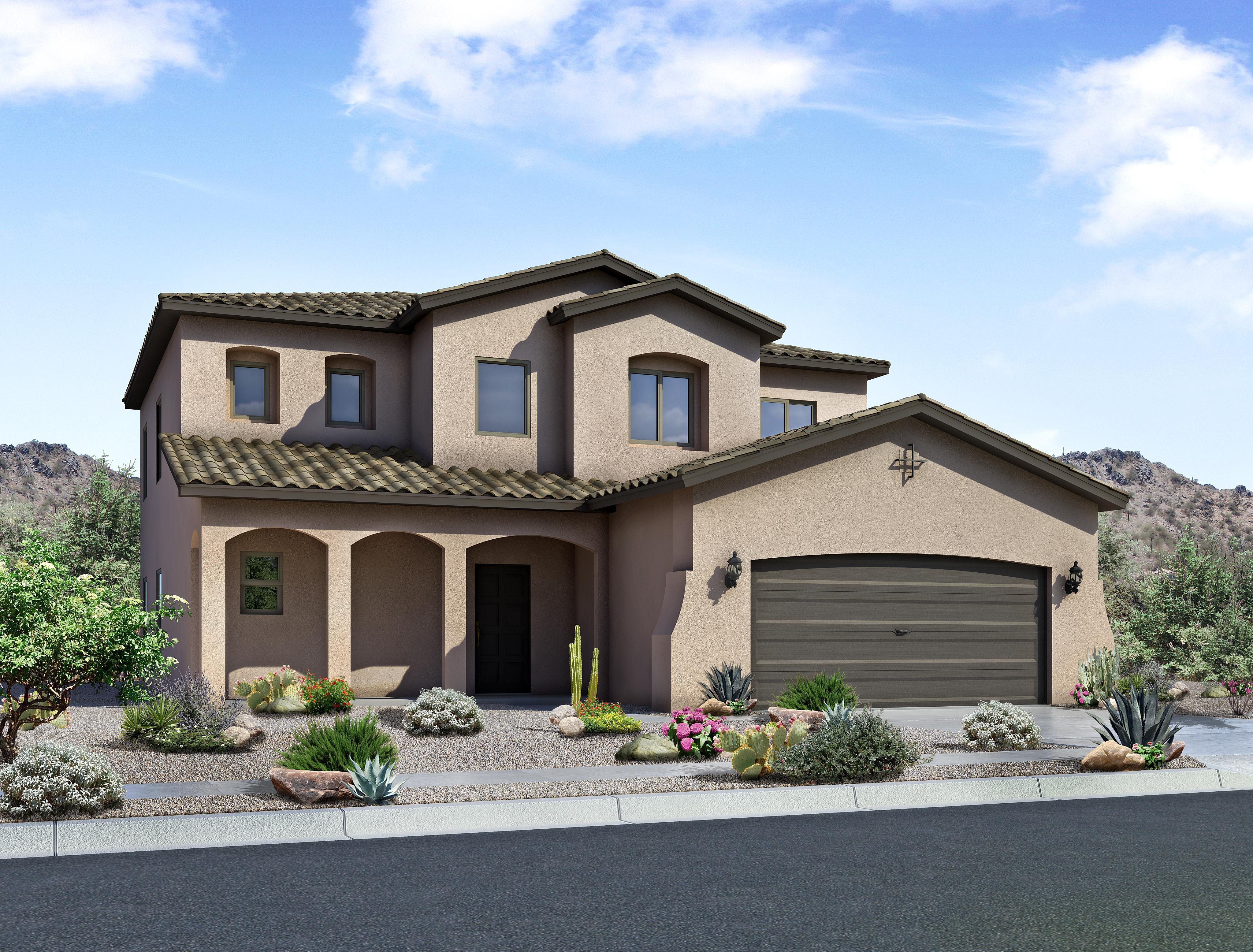 Single Family for Sale at Rancho Valencia - The Taylor 1620 Camino Canyon Sw Los Lunas, New Mexico 87031 United States