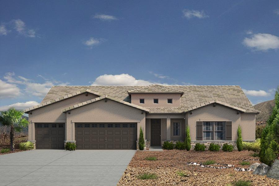 Single Family for Sale at Mariposa - The Tiffany 2604 La Luz Circle Rio Rancho, New Mexico 87144 United States
