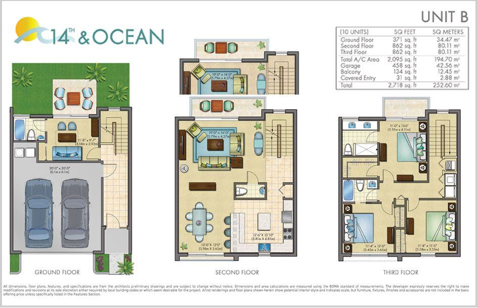 Ocean Floor Diagram