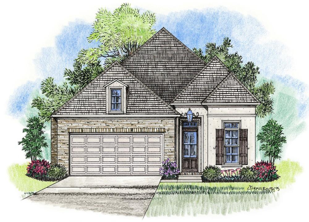 Single Family for Sale at Lexington Park - Martin Baton Rouge, Louisiana 70810 United States