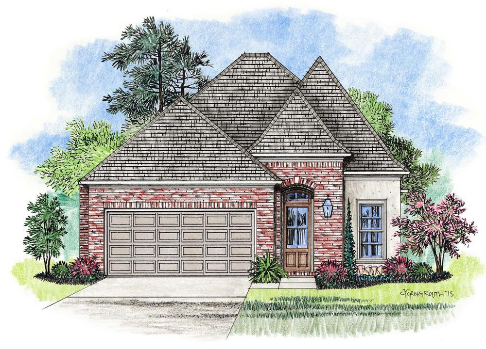 Single Family for Sale at Lexington Park - Monarch Baton Rouge, Louisiana 70810 United States