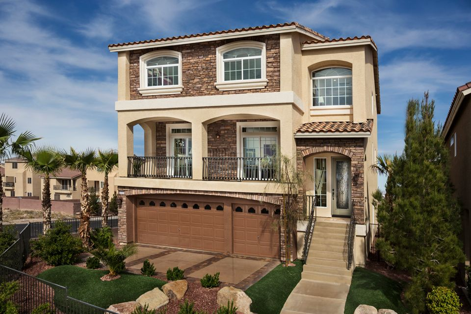 American west reserve new homes in las vegas nv by for New american home las vegas