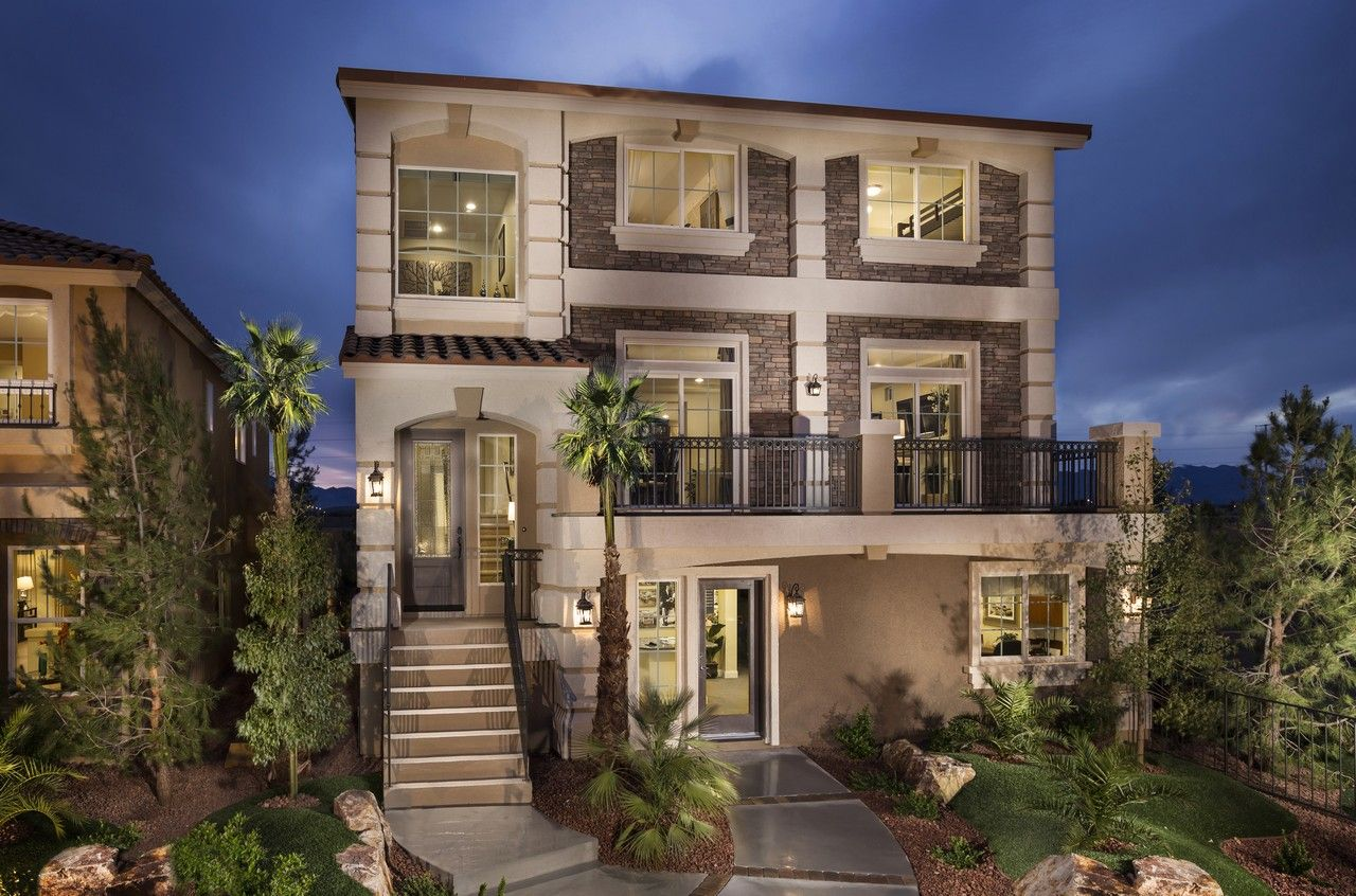 American west brentwood new homes in las vegas nv by for New american home las vegas