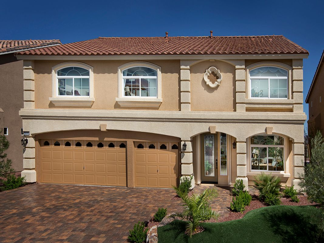 American west fox hill estates new homes in las vegas nv for New american home las vegas