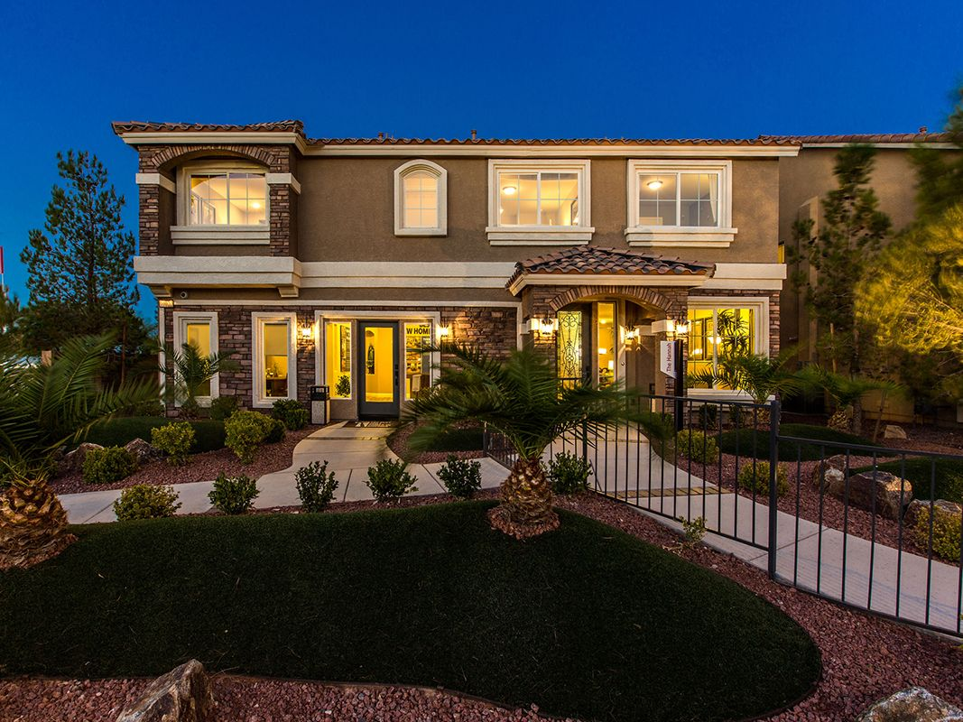 Southern highlands olympia ridge new homes in las vegas for New american home las vegas