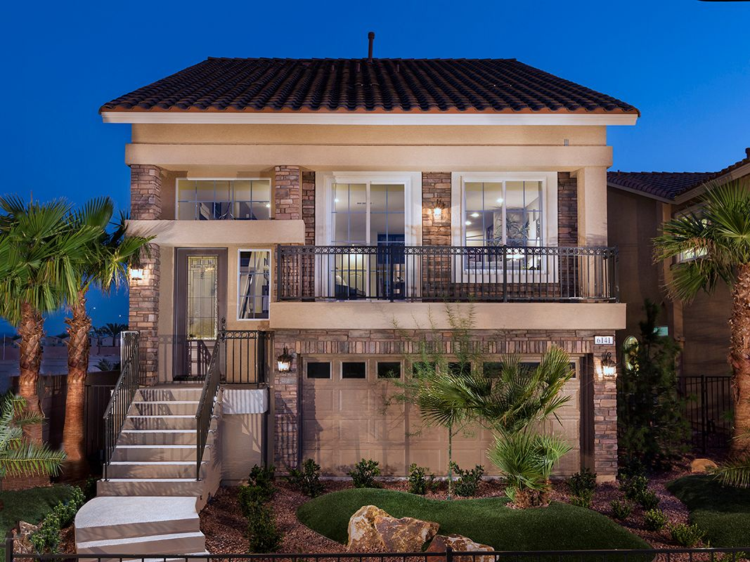 American west jones crossing new homes in las vegas nv by for New american home las vegas