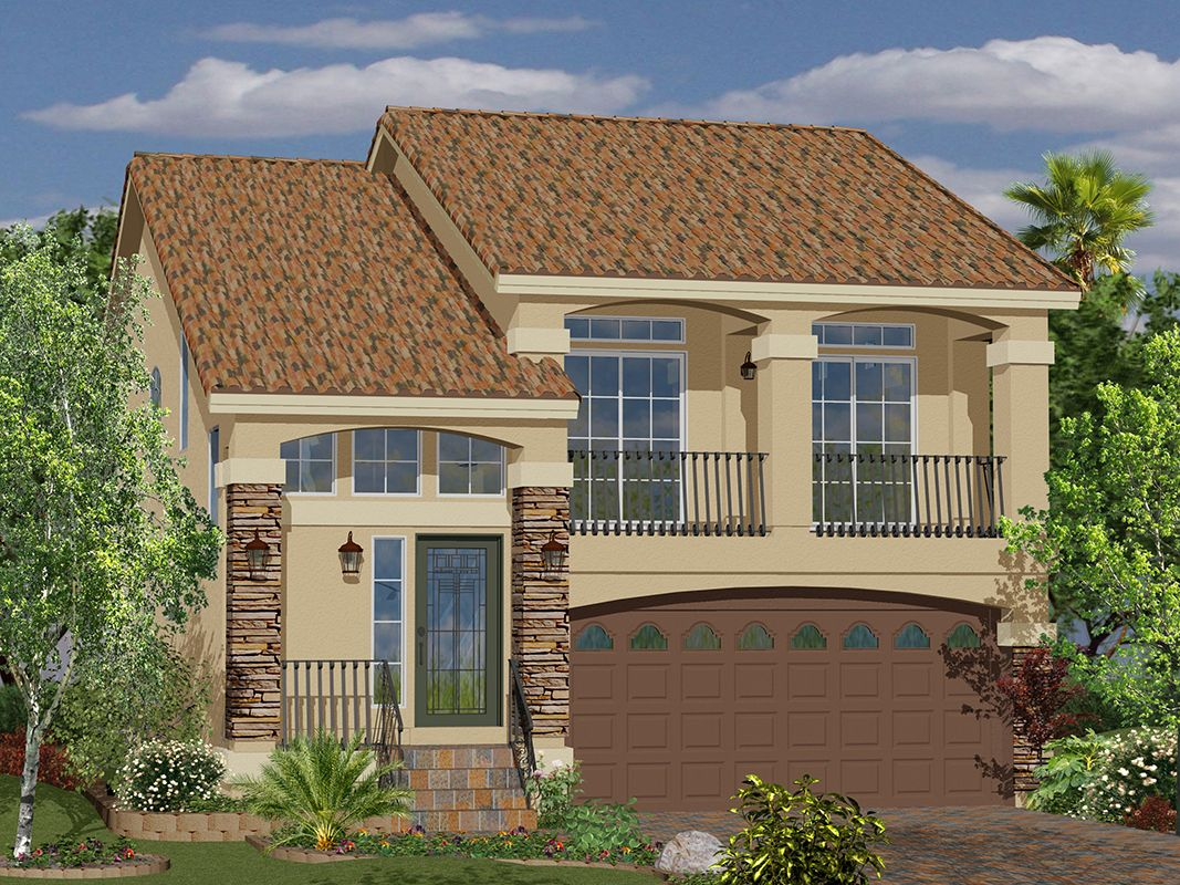 Plan 2018 american west southbrook in las vegas for New american home las vegas