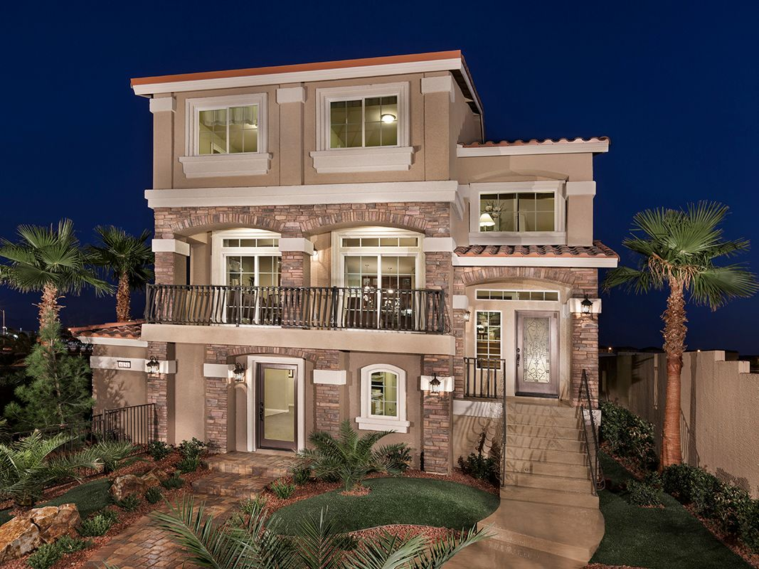 American west southbrook new homes in las vegas nv by for New american home las vegas