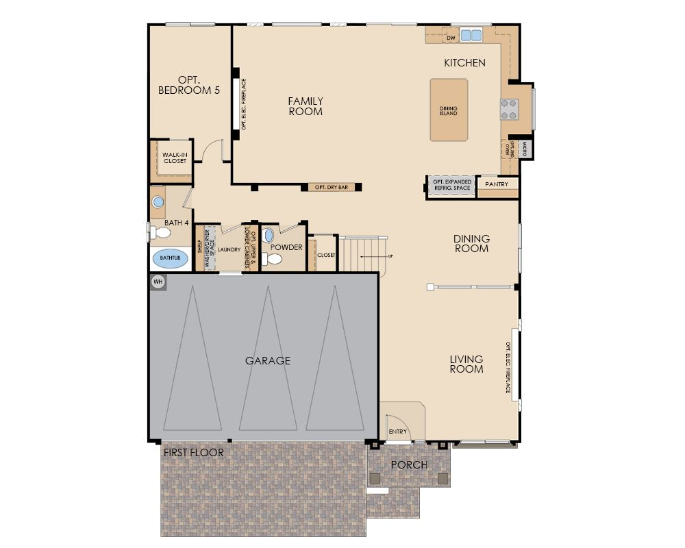 American west homes floor plans for American home builders floor plans