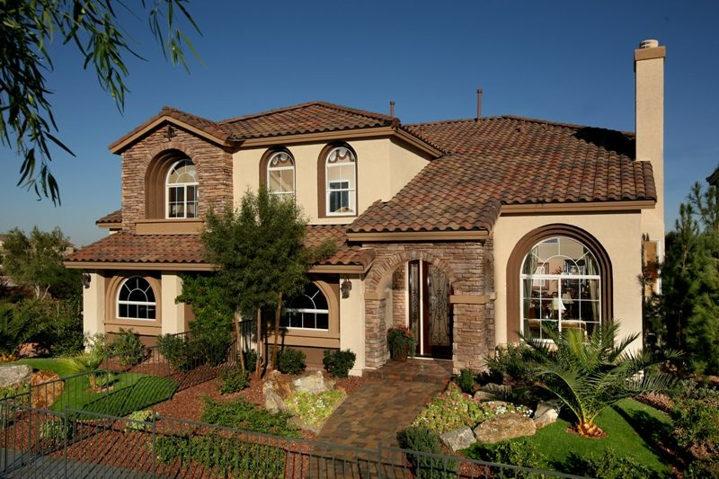 American west woodbridge new homes in las vegas nv by for New american home las vegas