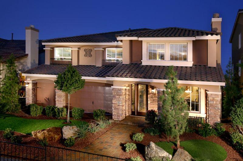 American west woodbridge new homes in las vegas nv by for New american home las vegas