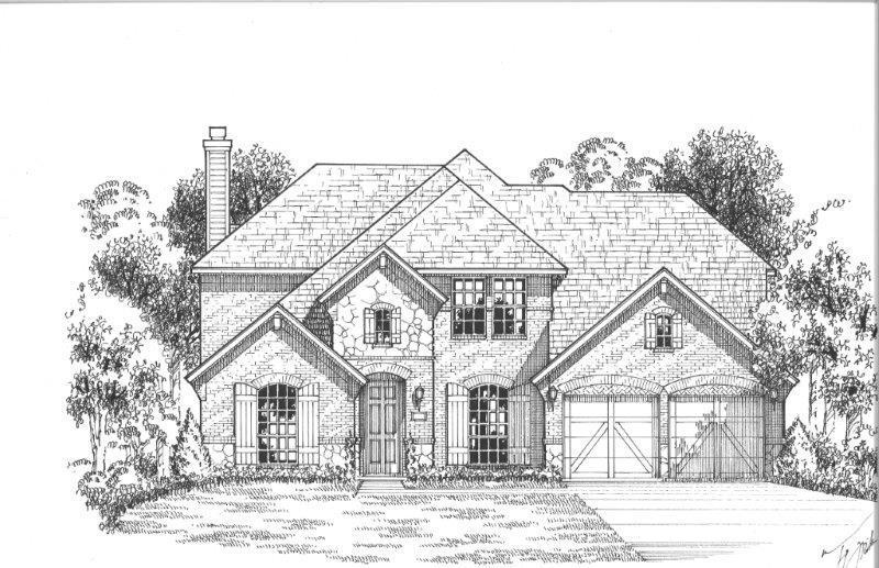 Single Family for Sale at Plan 1603 861 Fireside Drive Aubrey, Texas 76227 United States