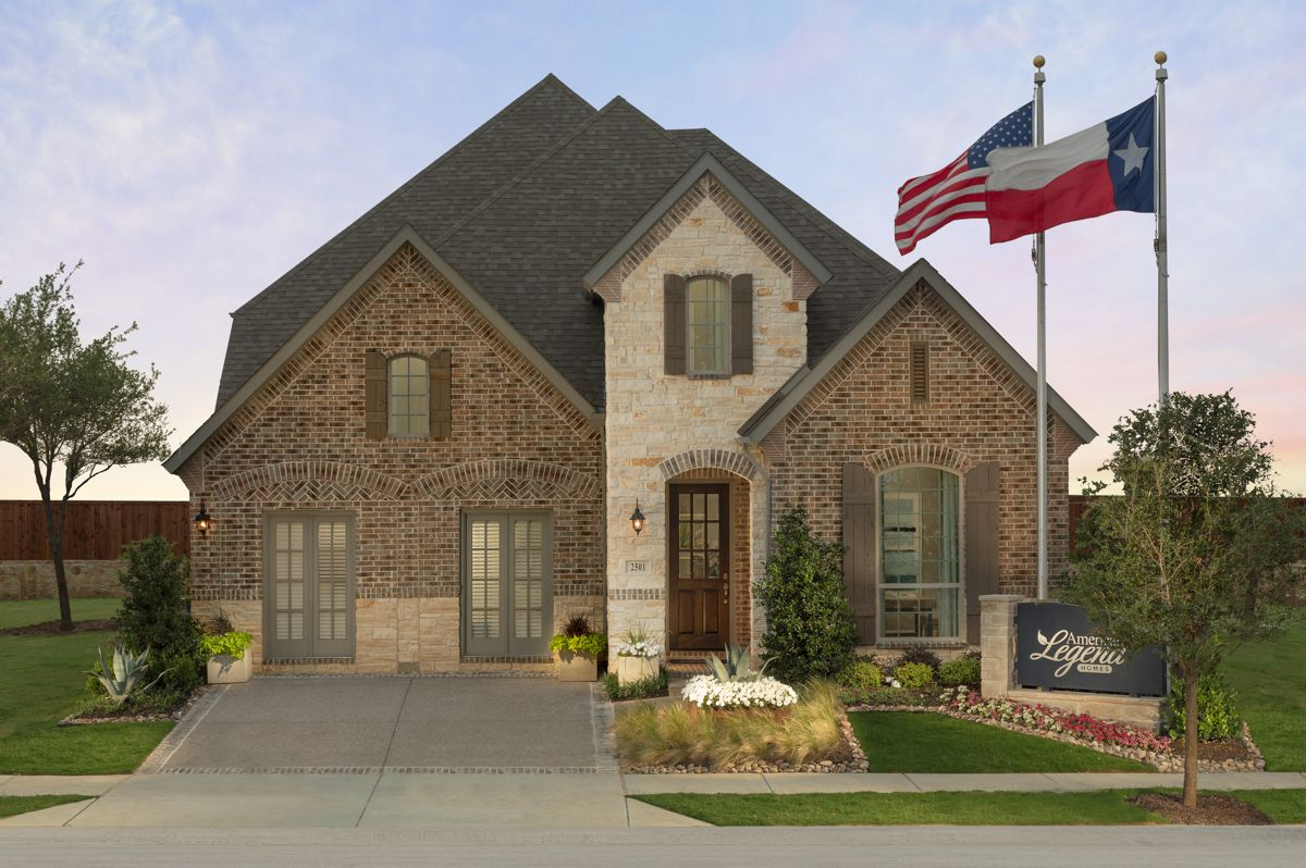 Single Family for Sale at Plan 1118 2501 Saffire Way Lewisville, Texas 75056 United States