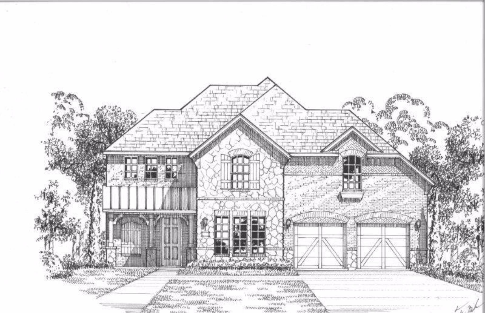 Single Family for Sale at Plan 1607 9725 Wexley Way Haslet, Texas 76052 United States