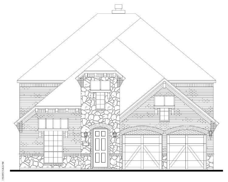 Single Family for Active at South Haven - Plan 1196 Model Under Construction Coppell, Texas 75019 United States
