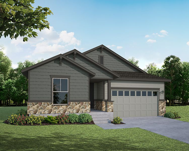 Single Family for Active at The Enclave At Mariana Butte - Lakeside Series - Plan C408 4456 Martinson Drive Loveland, Colorado 80537 United States