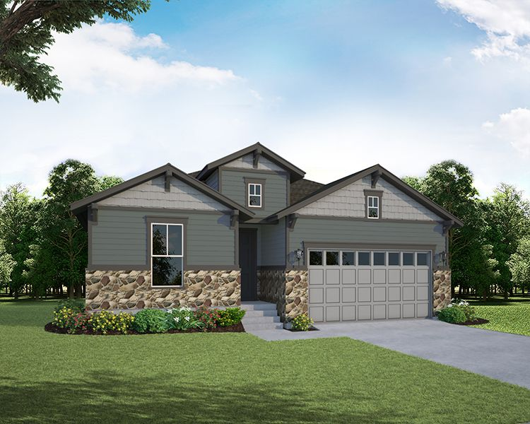 Single Family for Active at The Enclave At Mariana Butte - Lakeside Series - Plan C411 4456 Martinson Drive Loveland, Colorado 80537 United States