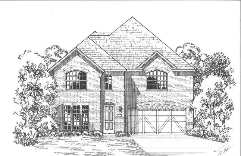 Single Family for Sale at Castle Hills - Southpointe - Plan 1197 2501 Saffire Way Lewisville, Texas 75056 United States