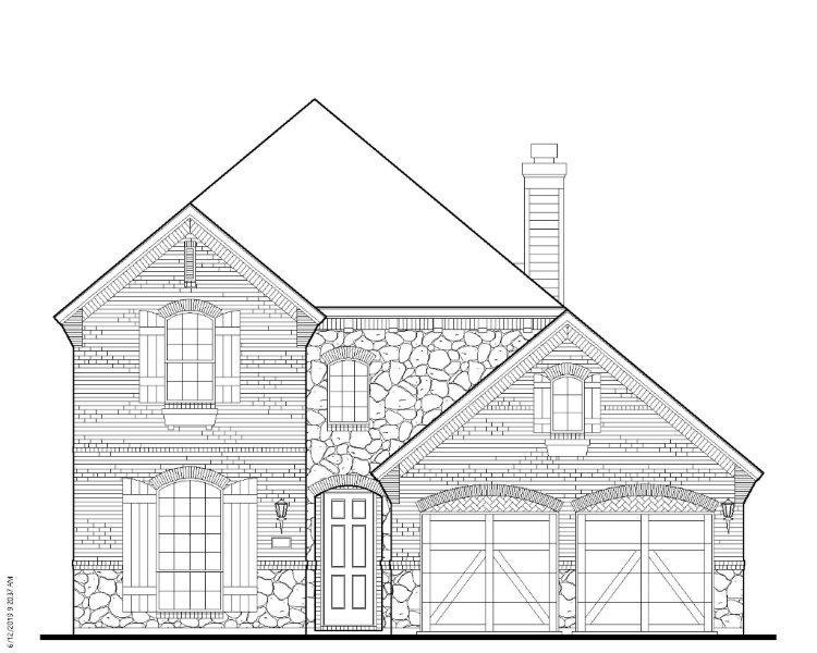 Single Family for Active at South Haven - Plan 1163 Model Under Construction Coppell, Texas 75019 United States