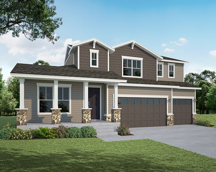 Single Family for Active at Heritage Ridge - Plan C504 534 South 5th Street Berthoud, Colorado 80513 United States