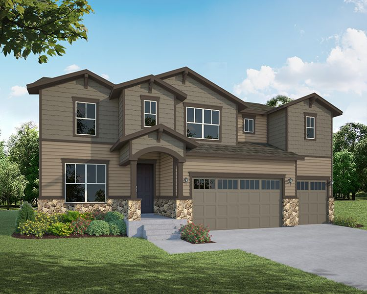Single Family for Active at Heritage Ridge - Plan C505 534 South 5th Street Berthoud, Colorado 80513 United States