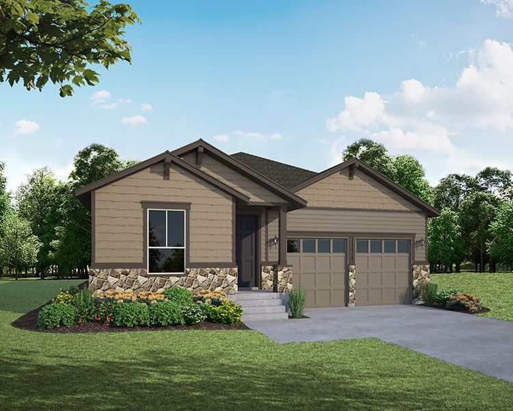 Single Family for Active at The Enclave At Mariana Butte - Lakeside Series - Plan C404 4456 Martinson Drive Loveland, Colorado 80537 United States