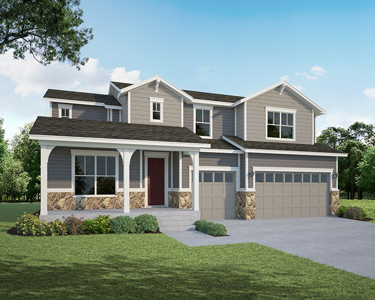 Single Family for Active at Heritage Ridge - Plan C506 534 South 5th Street Berthoud, Colorado 80513 United States