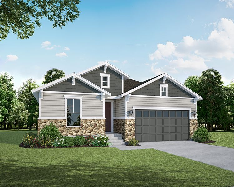 Single Family for Active at The Enclave At Mariana Butte - Lakeside Series - Plan C410 4456 Martinson Drive Loveland, Colorado 80537 United States