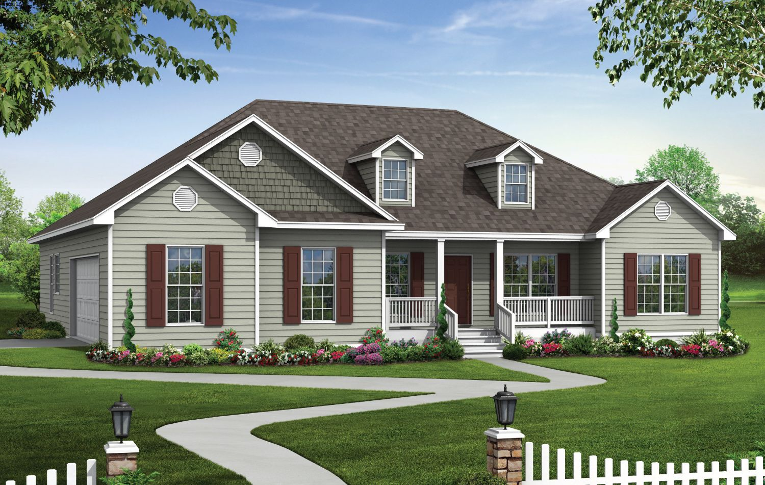 America 39 s home place build on your lot tallahassee for Americas best home place