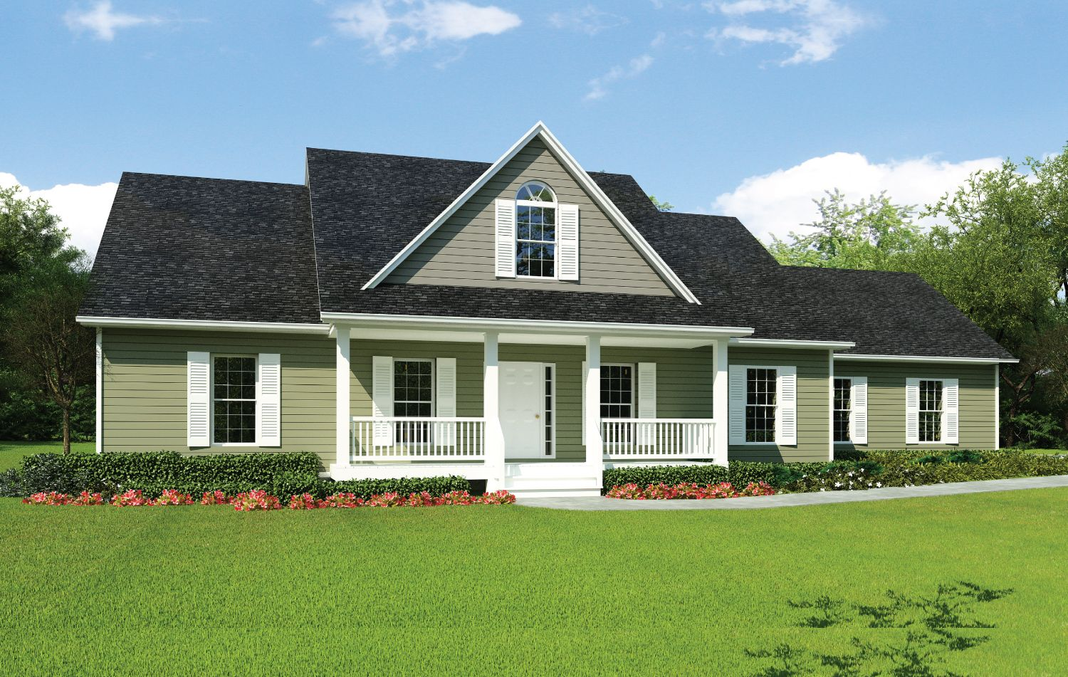 Single Family for Sale at Build On Your Lot - Hattiesburg - Hartford A 4700 Hardy Street Hattiesburg, Mississippi 39402 United States