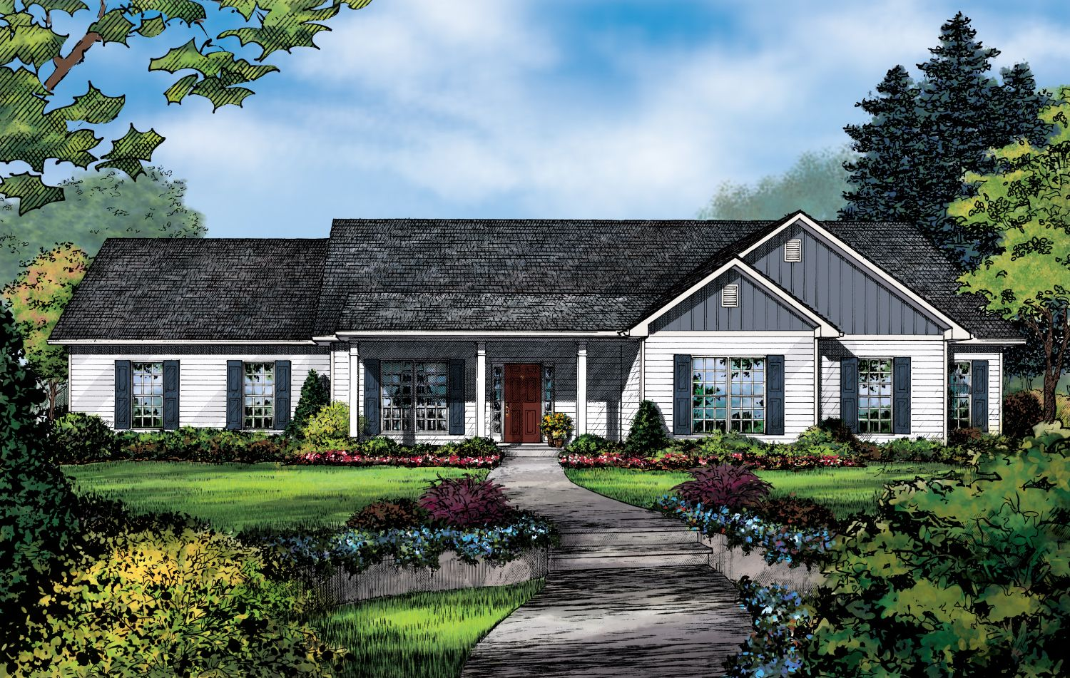 Single Family for Sale at Build On Your Lot - Jackson - Kingston A 896 Centre St. Ridgeland, Mississippi 39157 United States