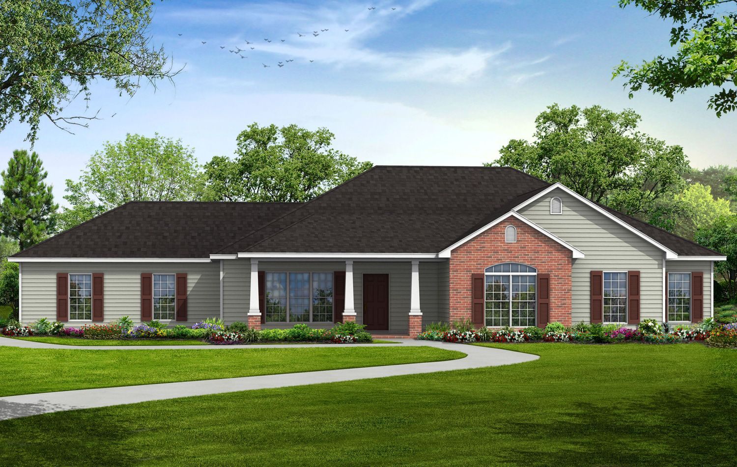 America 39 s home place build on your lot huntsville for Madison al home builders