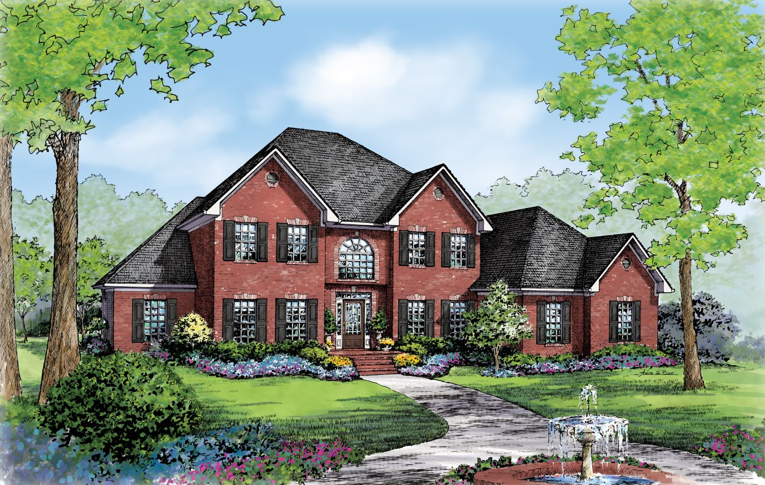 Single Family for Active at Build On Your Lot Monroe Building Center - Southampton B 2608 Executive Point Dr Monroe, North Carolina 28110 United States