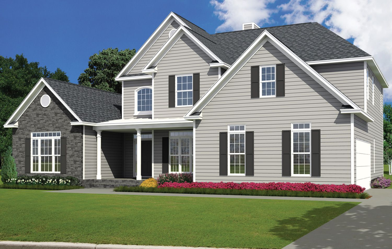 Single Family for Active at Build On Your Lot Monroe Building Center - Wellington A 2608 Executive Point Dr Monroe, North Carolina 28110 United States