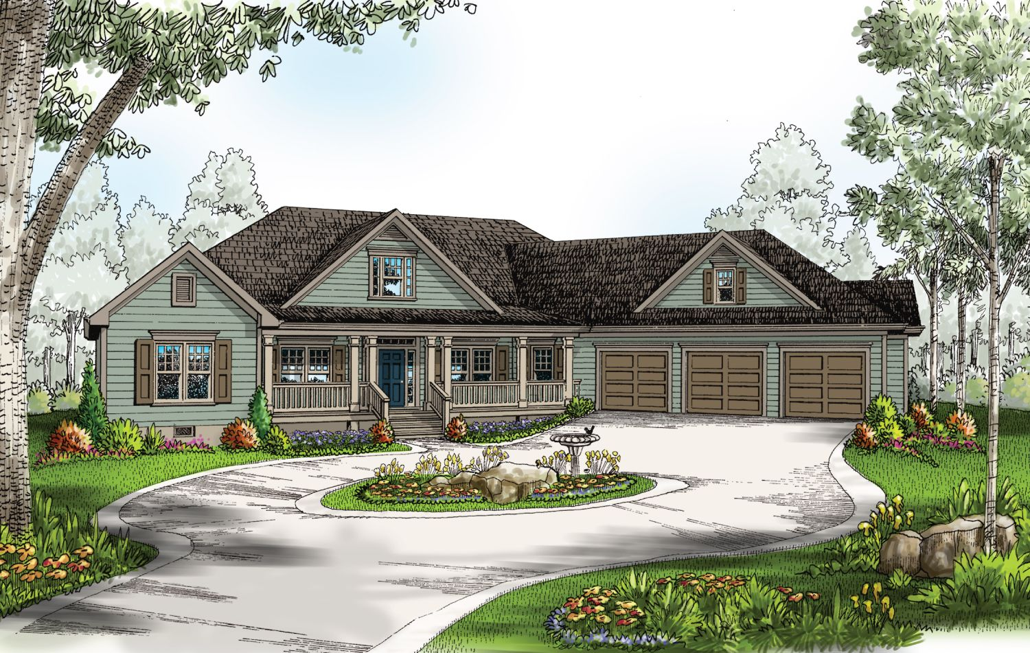 Single Family for Active at Build On Your Lot Monroe Building Center - Brentwood A 2608 Executive Point Dr Monroe, North Carolina 28110 United States