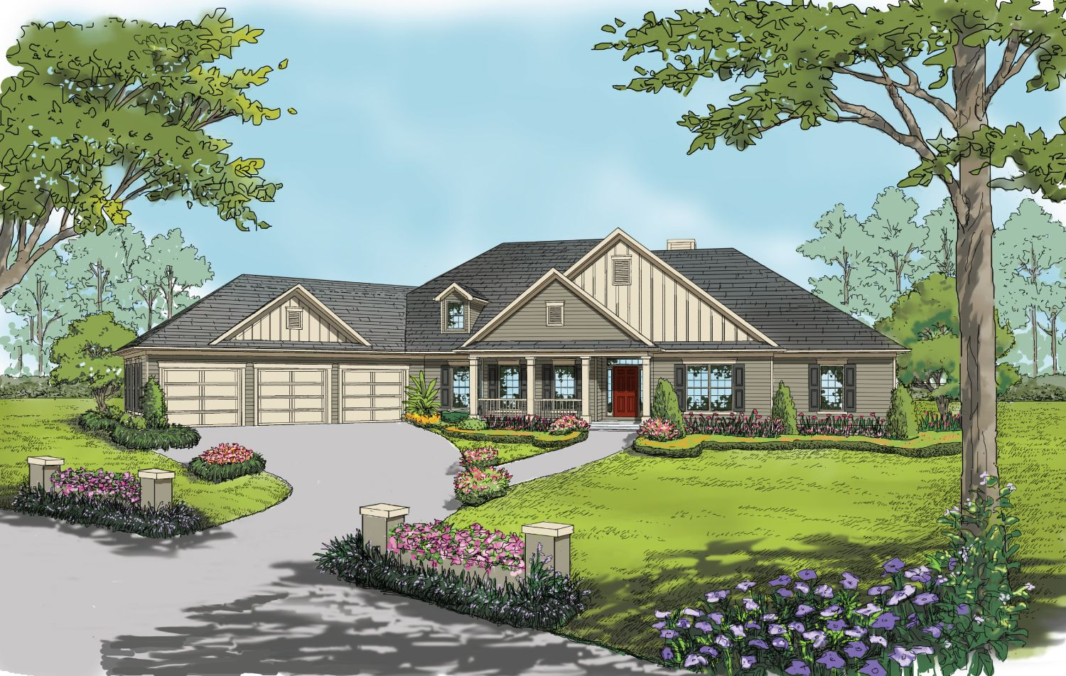 Single Family for Active at Build On Your Lot Monroe Building Center - Delaware A 2608 Executive Point Dr Monroe, North Carolina 28110 United States