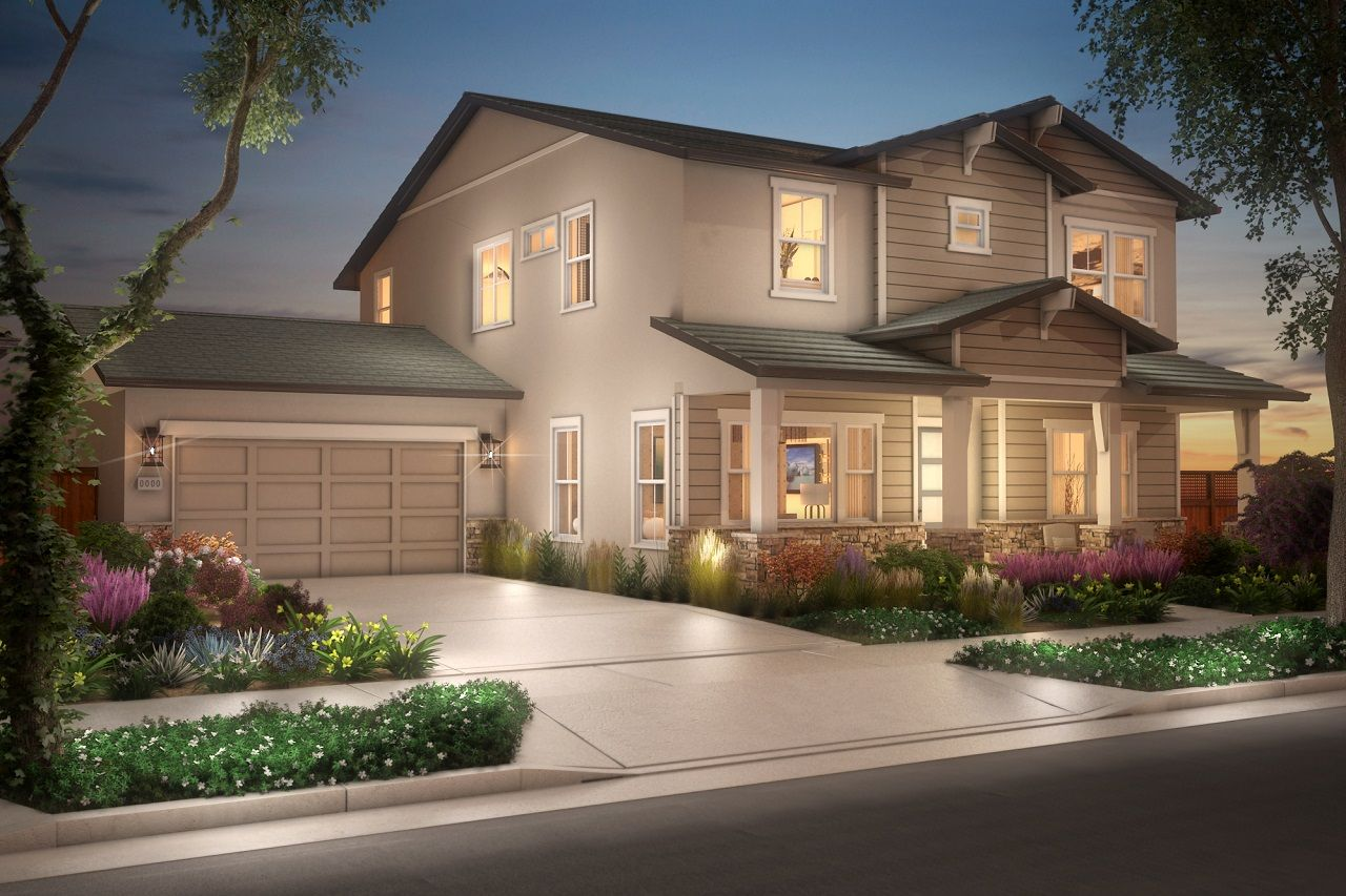 Single Family for Active at Plan 2 1738 Mulholland Drive Lathrop, California 95330 United States