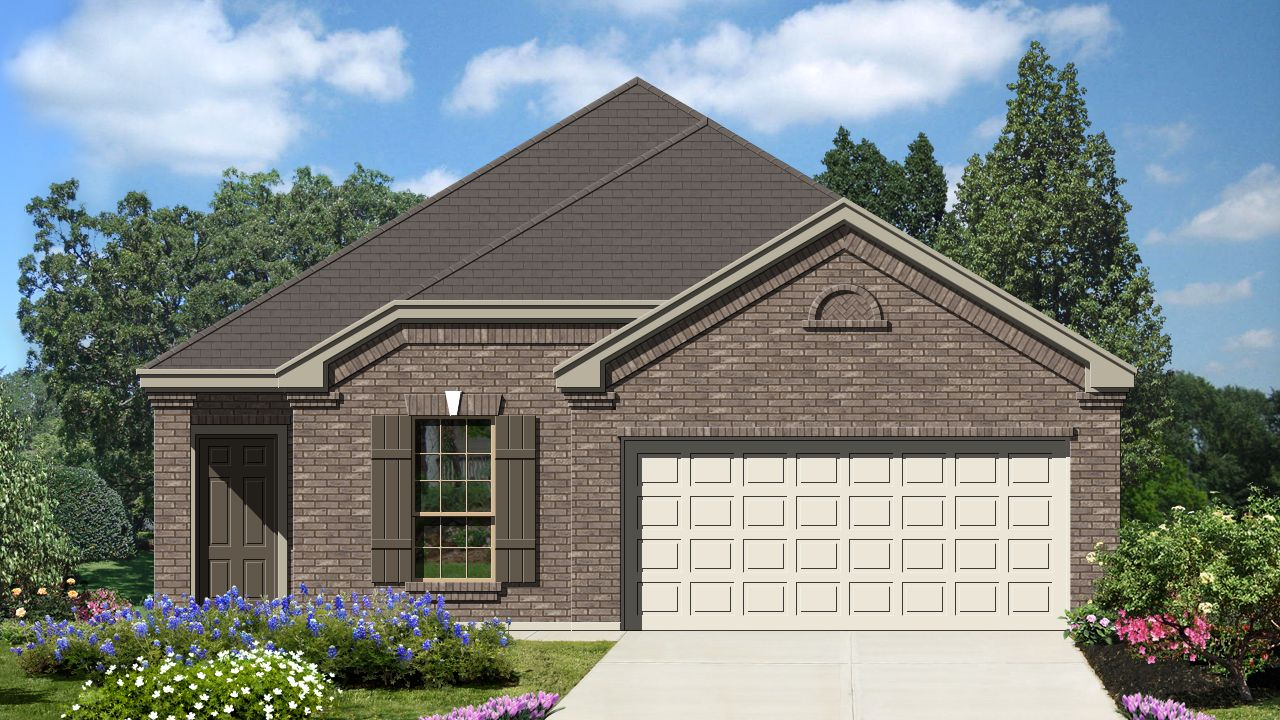 Armadillo homes villas san agustin childress 1535 for Laredo home builders