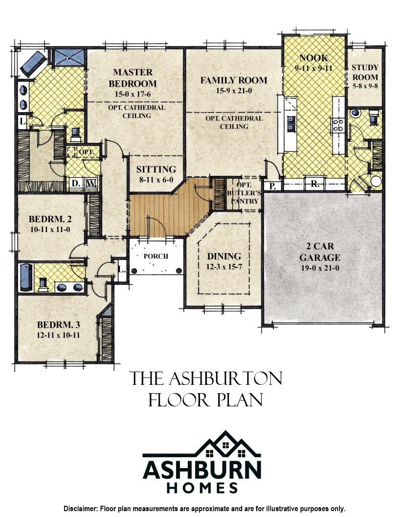 Ashburn Homes Estates Of Morris Mills The Ashburton