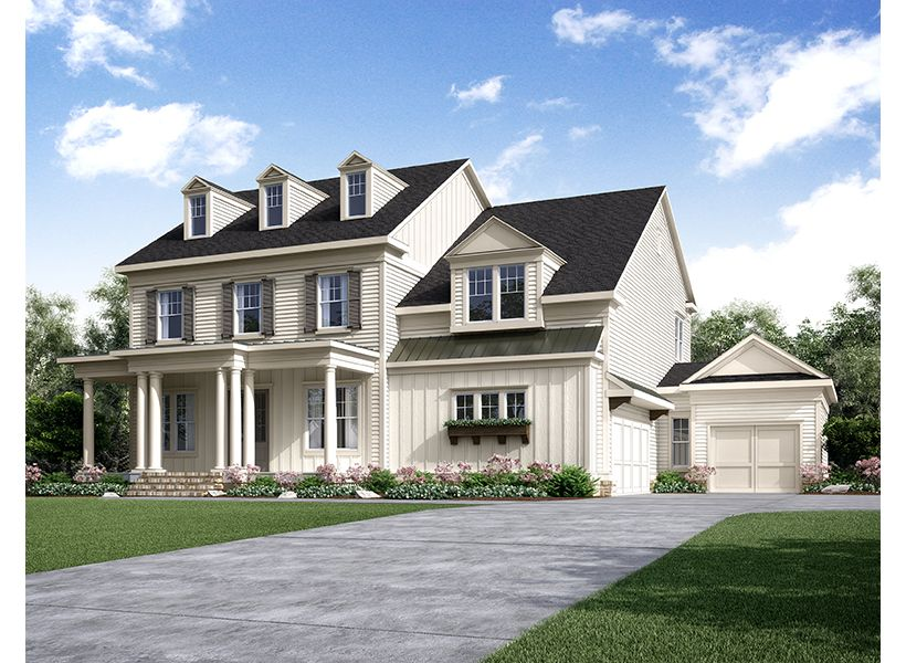 Single Family for Sale at Woodwinds At New Providence - Callaway 120 Horizon Hill Milton, Georgia 30004 United States