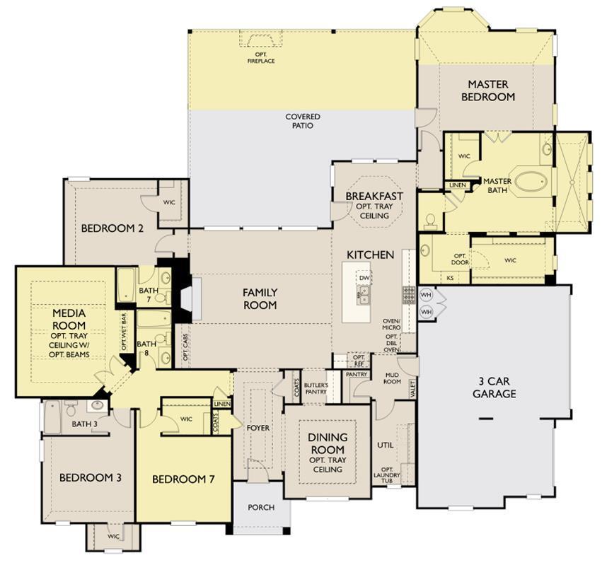 Ashton Woods Homes, Saratoga Hills, Kylie-1167755, Austin, TX ...