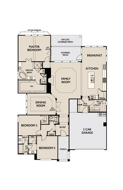 Ashton Woods Homes, Kinder Ranch, Ellington-1265651, San Antonio ...